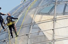 cleaning on the biosphere