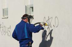 nettoyage de graffiti